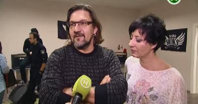 Соня та Кузін на репетиції ROCK PATROL