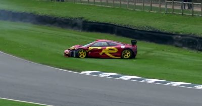 Нік Мейсон розбив свій McLaren F1 GTR