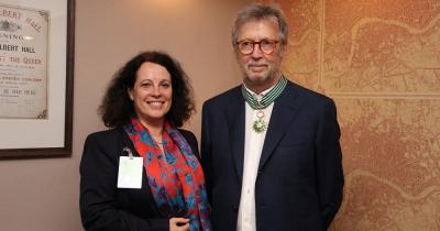 Ерік Клептон став кавалером Ордену Мистецтв і літератури