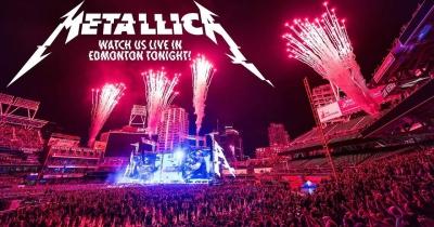 Metallica опублікувала відео концерту в Едмонтоні