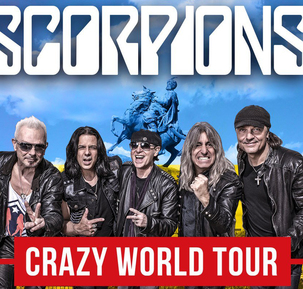 Scorpions Crazy World Tour