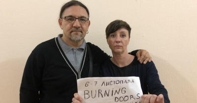 Долучайтесь до флешмобу вистави Burning Doors