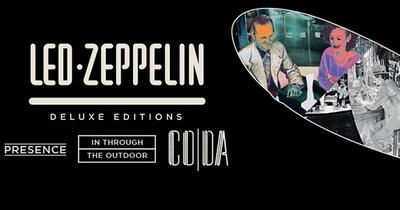 Led Zeppelin випустять ремастери трьох альбомів у липні