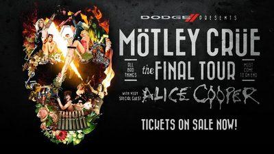 Останній концертний тур Motley Crue стартує цього літа