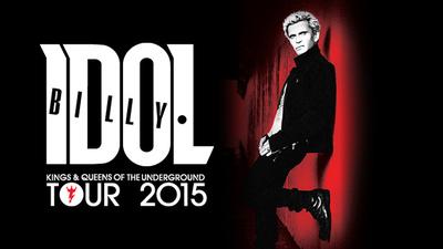 Біллі Айдолу довелося скасувати частину концертів свого туру