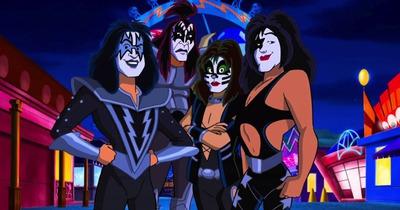 Kiss записали пісню для мультфільму Скубі Ду