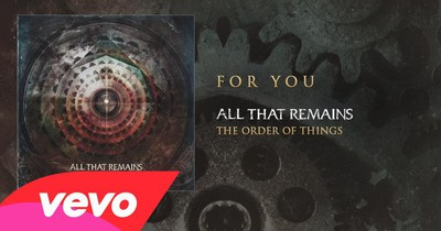 All That Remains опублікували відео ''For You''