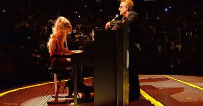U2 заспівали Ordinary Love разом з Леді Гагою