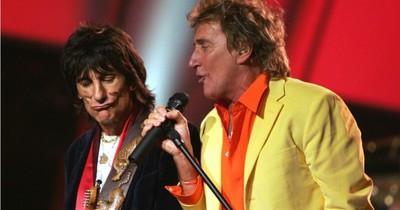 Род Стюарт та Ронні Вуд об'єднаються для благодійного шоу