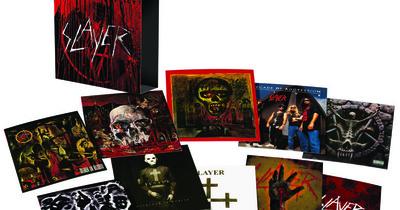Чотири альбоми Slayer перевидадуть на вінілі