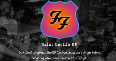 Foo Fighters опублікували міні-альбом Saint Cecilia
