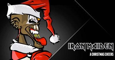 Iron Maiden випустили різдвяну відео-листівку