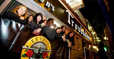 Guns N' Roses зібралися в класичному складі