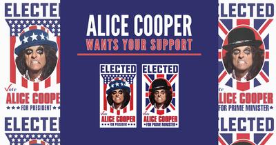 Еліс Купер йде у президенти