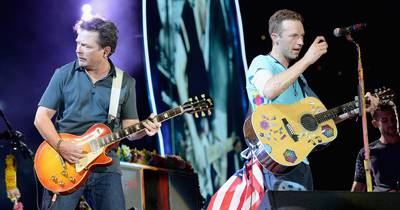 Майкл Джей Фокс та Coldplay зіграли Johnny B-Goode