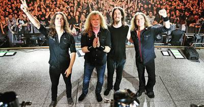 Негода зіпсувала концерт Megadeth