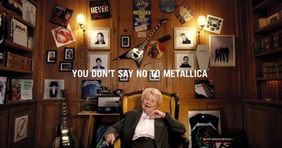 Чудова реклама нового альбому Metallica