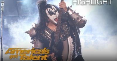 Kiss зіграли на шоу America's Got Talent