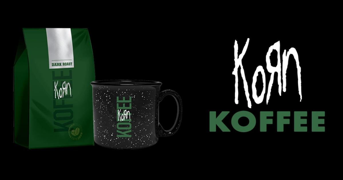 KoRn запустили власний бренд кави.