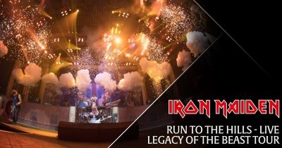 Iron Maiden випустили офіційне живе відео Run To The Hills