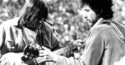 Боб Ділан та Ніл Янг виступлять разом на British Summer Time