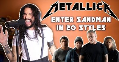 Enter Sandman в 20-ти рок-стилях