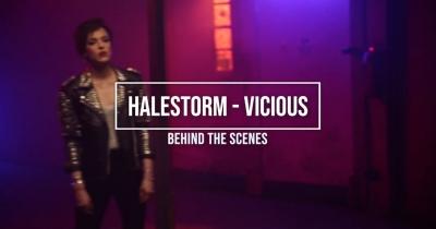 Halestorm показали знімальний процес кліпу Vicious