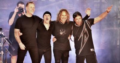 Metallica набрала матеріалу для нового альбому