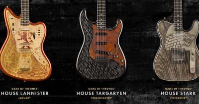 Fender і HBO створили гітари