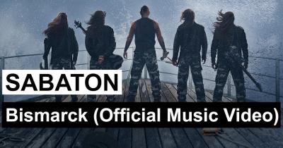 Sabaton показали нове відео Bismarck