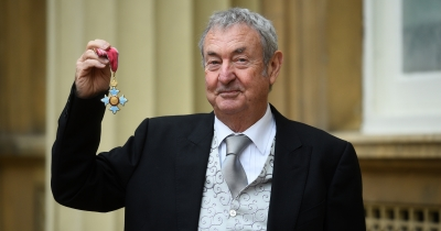 Нік Мейсон отримав Орден Британської імперії