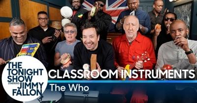 The Who завітали до Джиммі Феллона