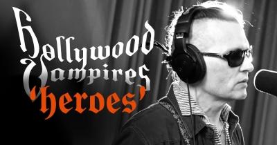 Hollywood Vampires опублікували відео Heroes