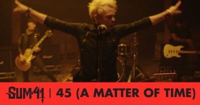 Sum 41 оприлюднили пісню 45 (A Matter Of Time)
