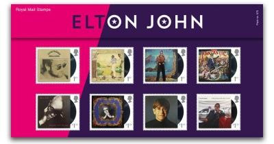 Королівська пошта видала марки з Елтоном Джоном