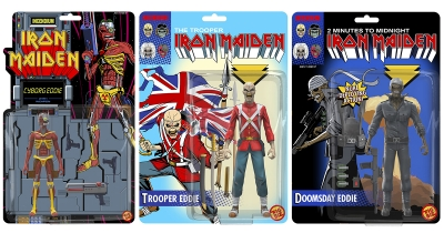 Iron Maiden випустять тематичні фігурки Едді