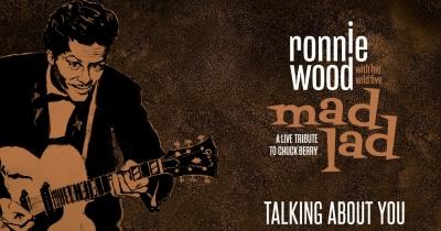 Ронні Вуд випустить альбом, присвячений Чаку Беррі