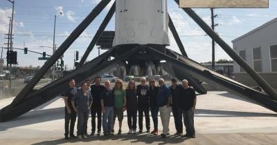 Iron Maiden відвідали SpaceX