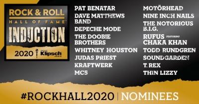 Зала слави рок-н-ролу оголосила список номінантів 2020