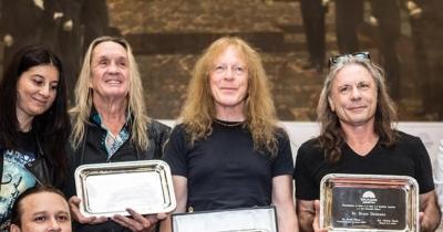 Iron Maiden вшанували в Аргентині