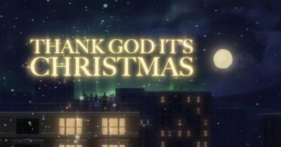 Queen видали різдвяне відео Thank God It's Christmas