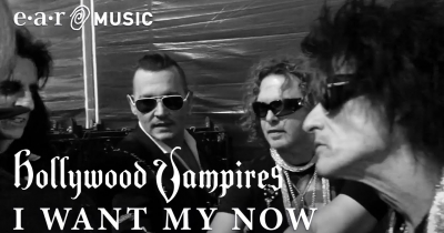 Hollywood Vampires випустили відео до пісні I Want My Now
