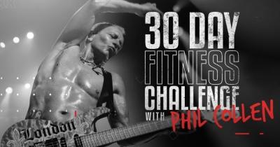 Гітарист Def Leppard Філ Коллен запрошує на фітнес-челендж