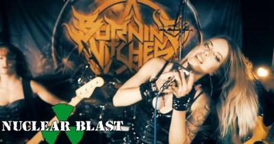 Burning Witches видали новий кліп The Circle Of Five