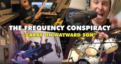 Кавер на Carry On Wayward Son від The Frequency Conspiracy