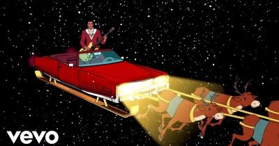 На пісню Run Rudolph Run у виконанні Чака Беррі зробили кліп