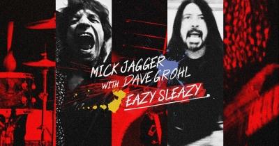 Мік Джаггер і Дейв Грол видали спільний трек