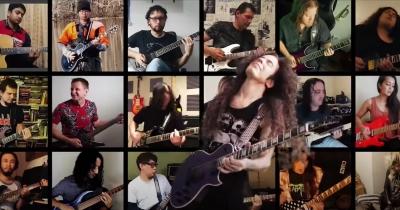 Марті Фрідман видав кліп з музикантами з усього світу