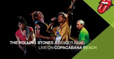 The Rolling Stones вперше видадуть шоу на Copacabana цілком