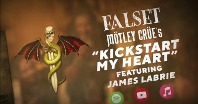 Джеймс Лабрі та FALSET записали кавер Kickstart My Heart